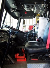 Ladder 11 Driver's Compartment.JPG