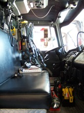 Ladder 11 Officer's Compartment.JPG